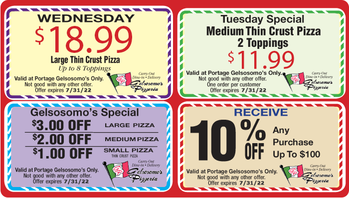 Pizza Coupons
